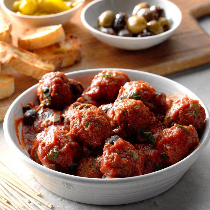 Meatballs with Marinara Sauce