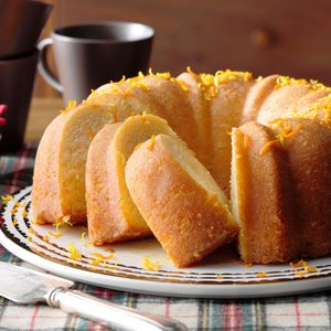 Mom's Citrus Buttermilk Cake