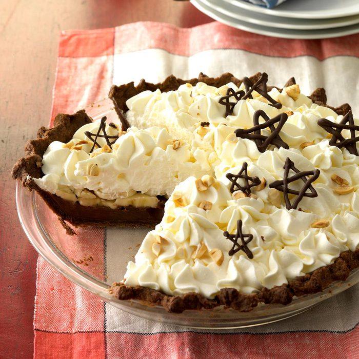 Nutella Banana Cream Pie