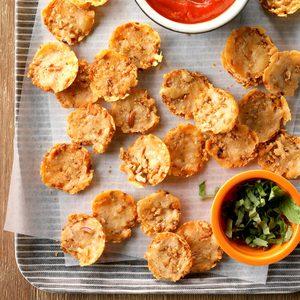Parmesan-Pretzel Crisps