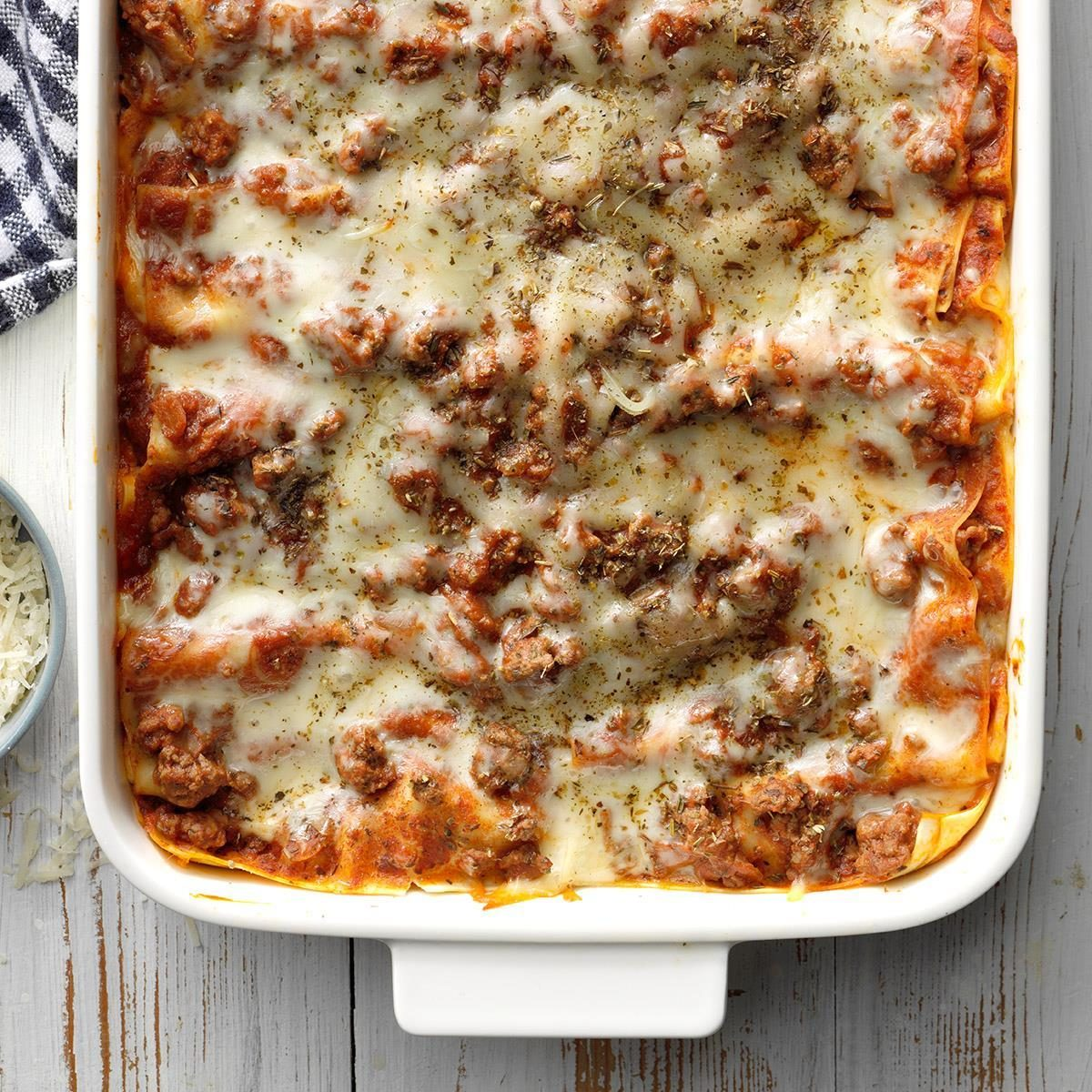 October 21: Perfect Four-Cheese Lasagna