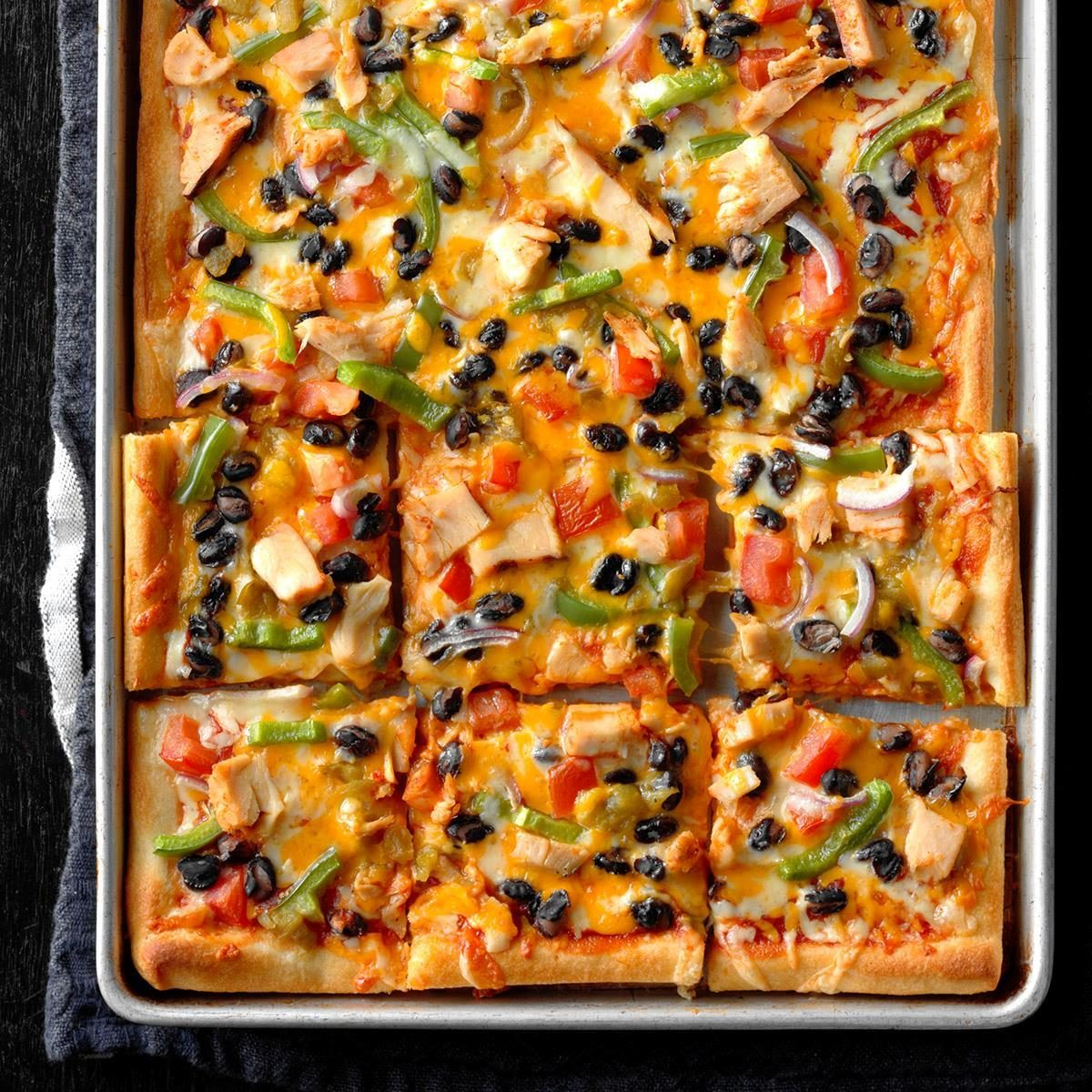 Saturday: Santa Fe Chicken Pizza Pie