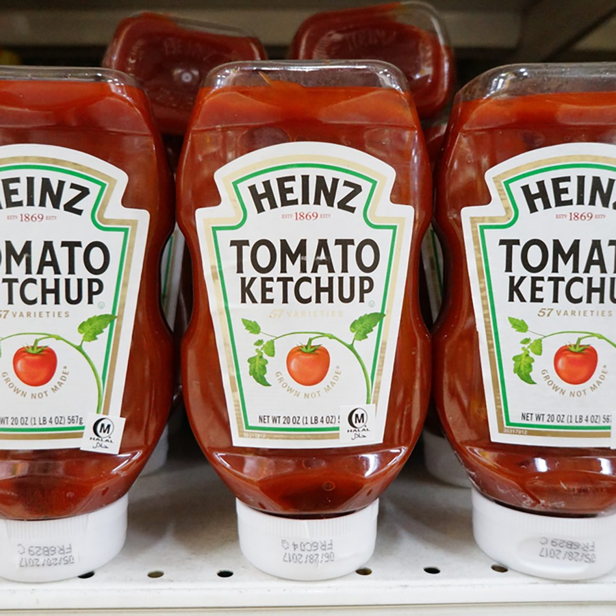 Heinz tomato ketchup at the hypermarket in Putrajaya, Malaysia.