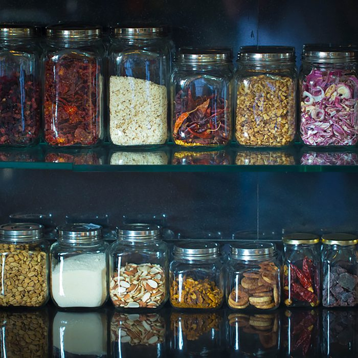 Spice Jar Stack