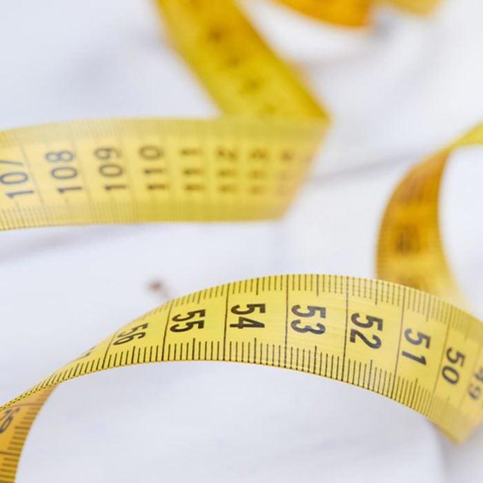tape measure for measuring waist