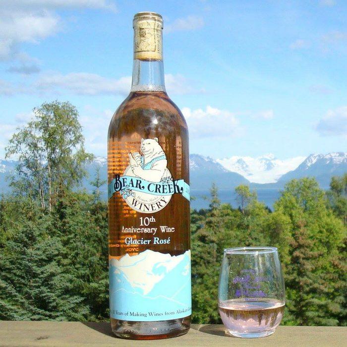 Bear Creek Winery wine