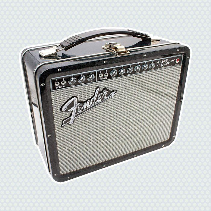 old school lunch box Aquarius Fender Amp Large Storage