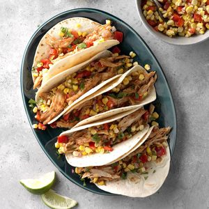 Bourbon Barbecue Chicken Tacos