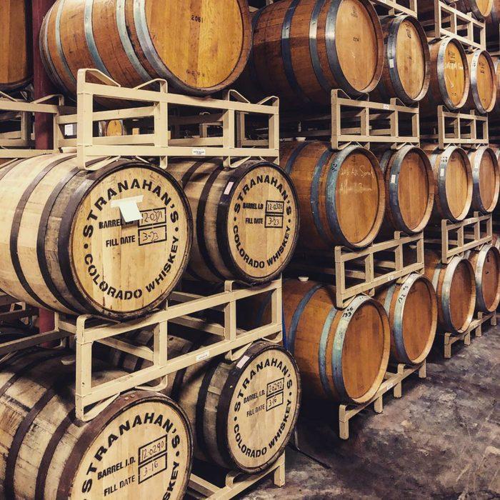 Ballstreri wine barrels