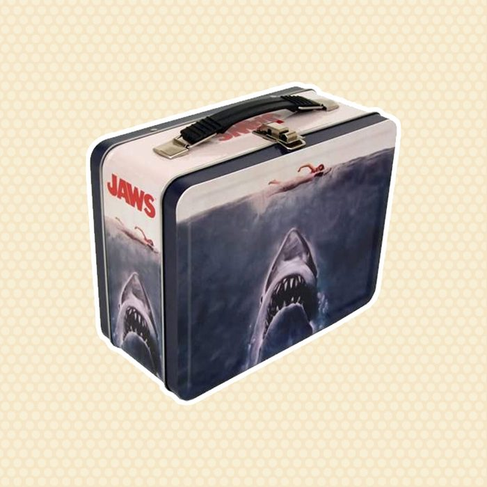 old school lunch box Factory Entertainment Jaws Tin Tote