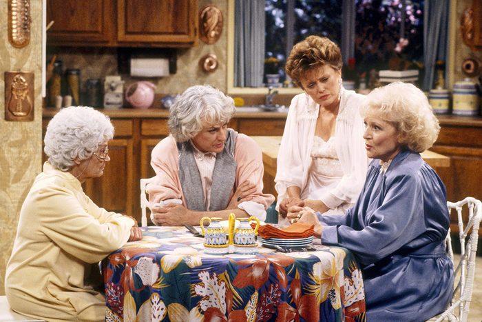 Estelle Getty, Bea Arthur, Rue McClanahan, Betty White The Golden Girls