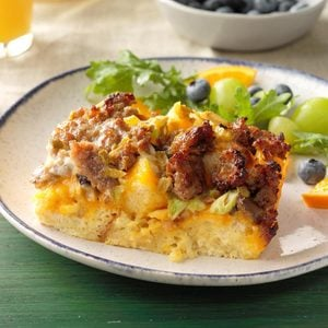 Green Chile Brunch Bake