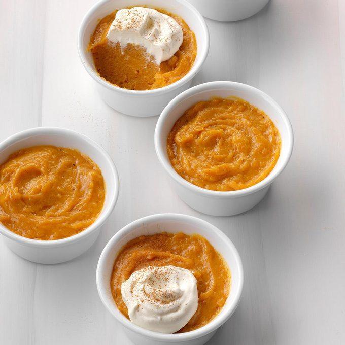 Orange Pumpkin Chiffon Dessert