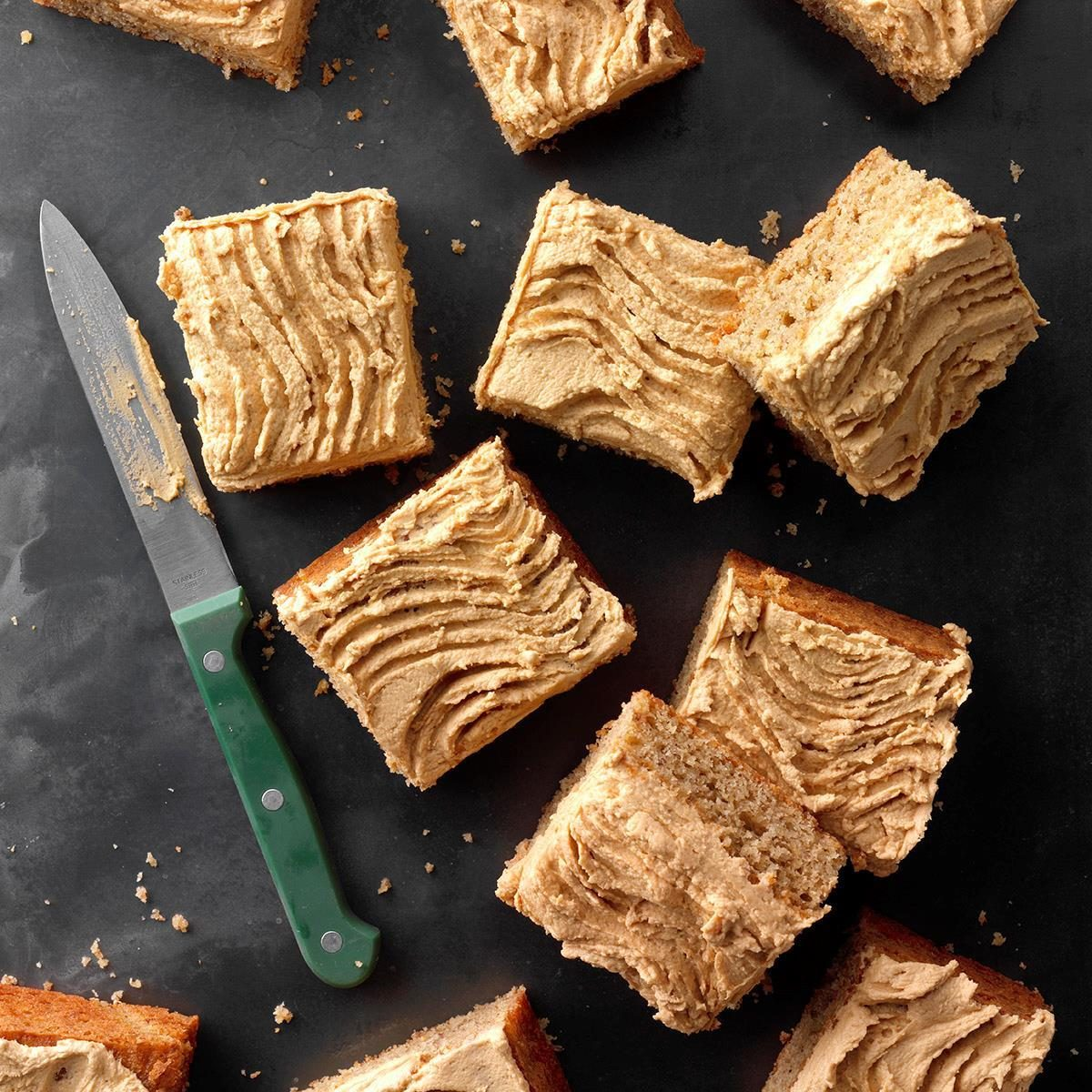 Texas: Pecan Cake with Cookie Butter Frosting