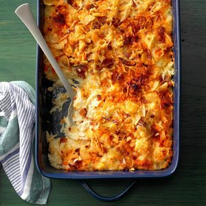 Pepper Jack Hash Brown Casserole