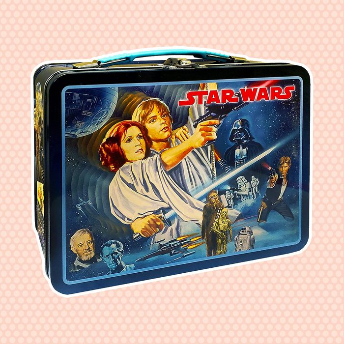 old school lunch box Star Wars Vintage Classic Tin Lunchbox