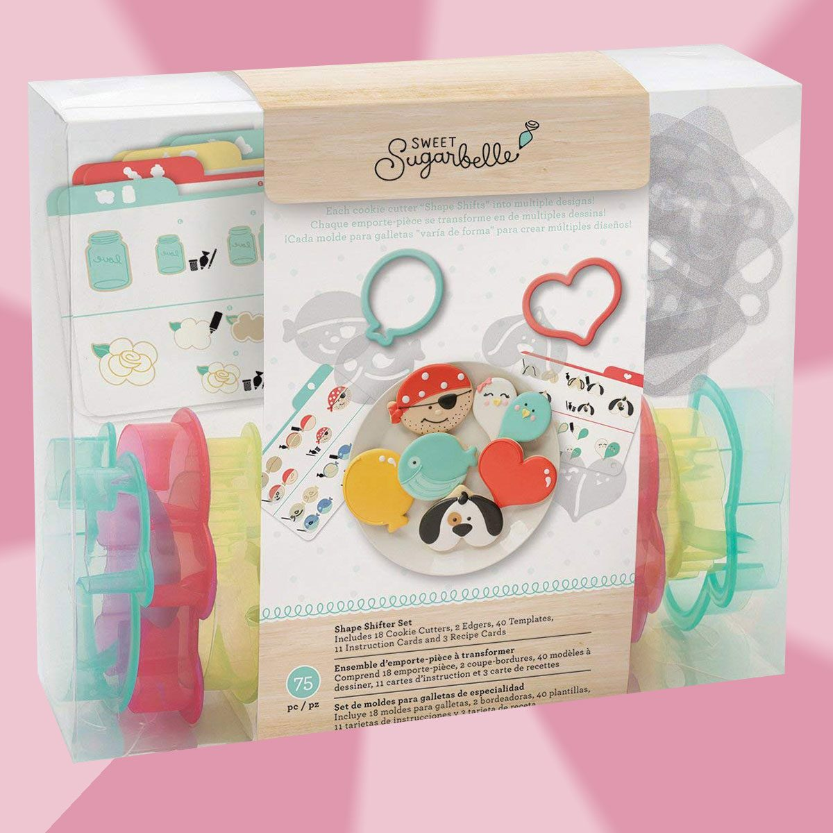 American Crafts Sweet Sugarbelle Cookie Cutter Shape Shifter Set
