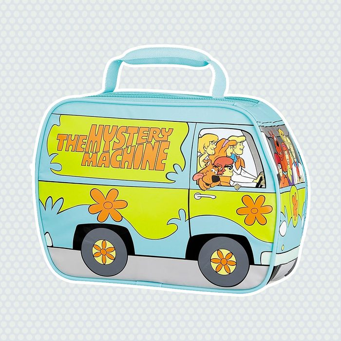 old school lunch box Thermos Novelty Scooby Mystery Machine