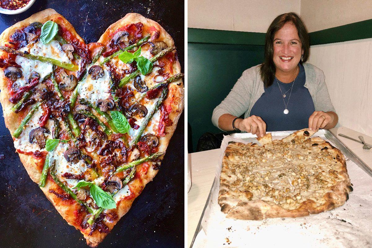Diane Morrisey pizza