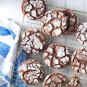 Mexican Crinkle Cookies with a Kick