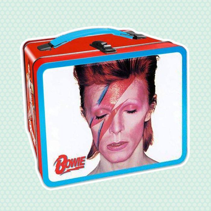 old school lunch box David Bowie Lunch Box
