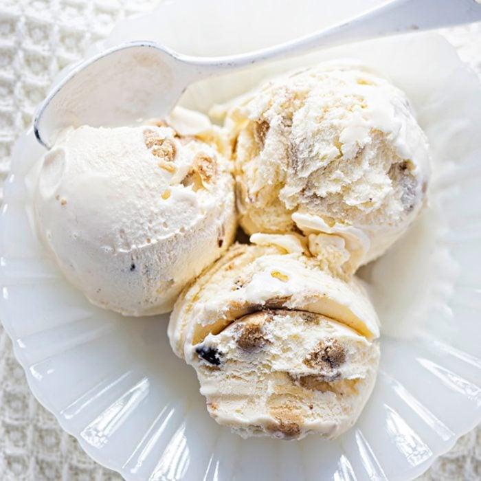 Vanilla ice creams with chocolate cookie dough ; Shutterstock ID 1050355418; Job (TFH, TOH, RD, BNB, CWM, CM): Taste of Home