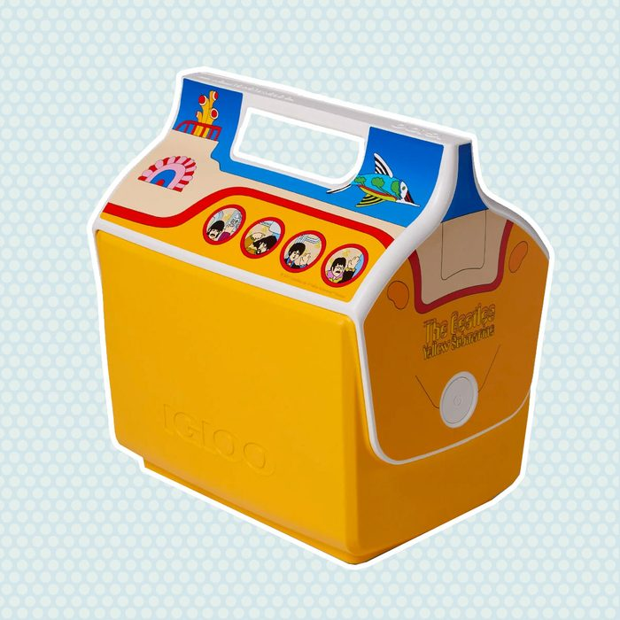 old school lunch box The Beatles Yellow Submarine Cooler
