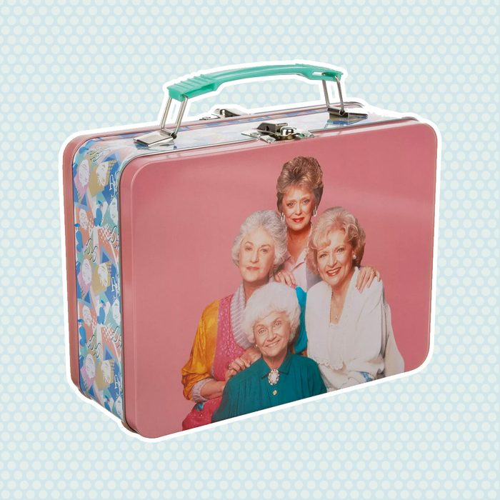 old school lunch box The Golden Girls 64oz Tin Lunch Tote