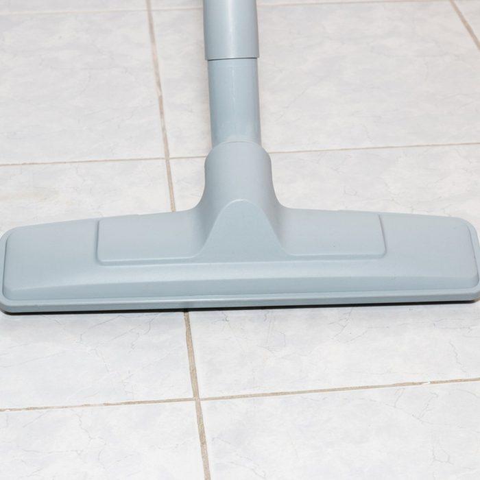 Vacuuming hard floors