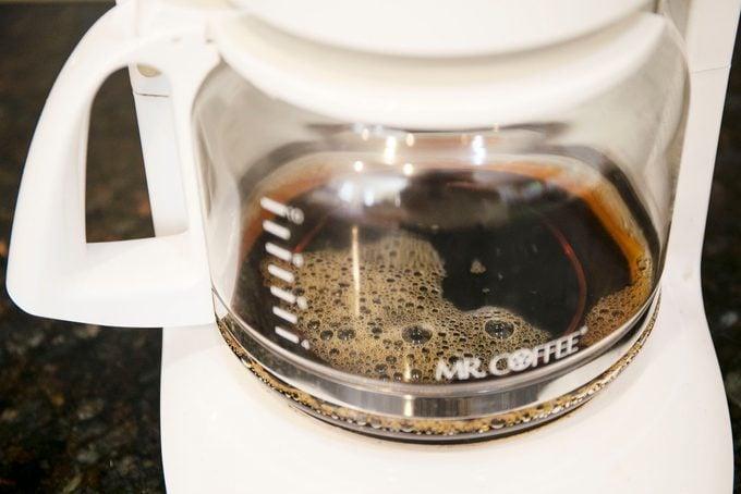 inside of a coffee maker