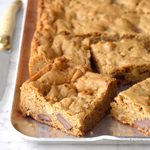 Chocolate Chunk Walnut Blondies