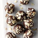 Chocolate Lebkuchen Cherry Balls