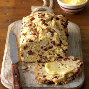 Cranberry Orange Almond Quick Bread