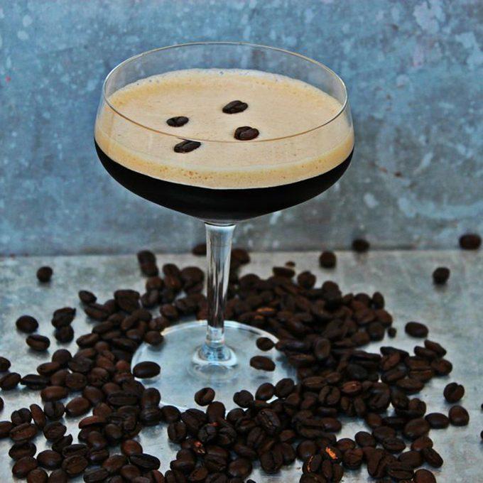 Espresso beer martini