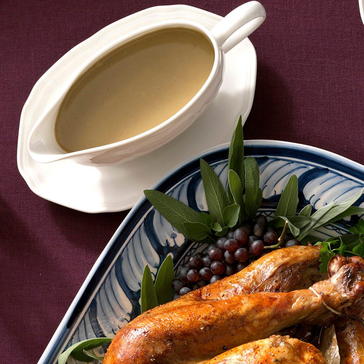 Traditional Thanksgiving Gravy Boat