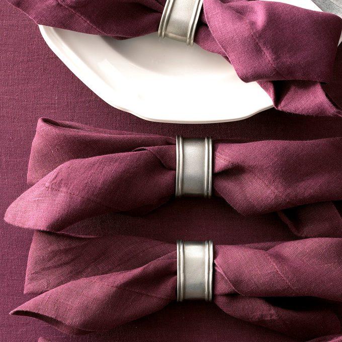 Traditional Thanksgiving Linen Napkins