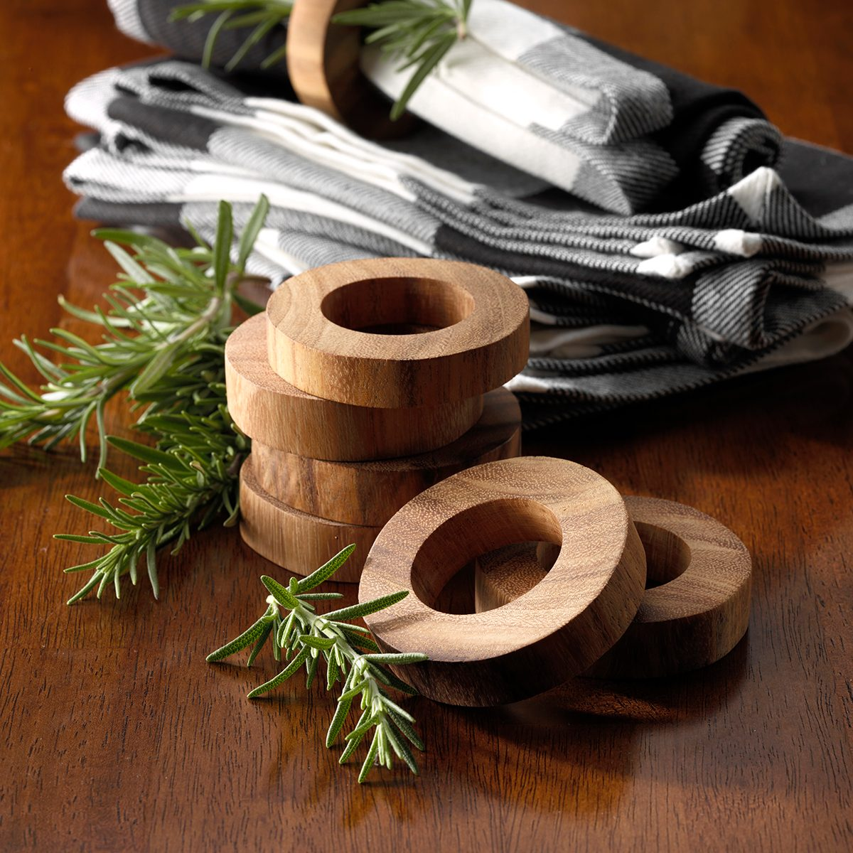 Country Thanksgiving Napkin Rings