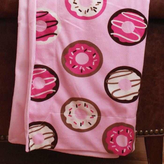 Pink Donuts Microplush