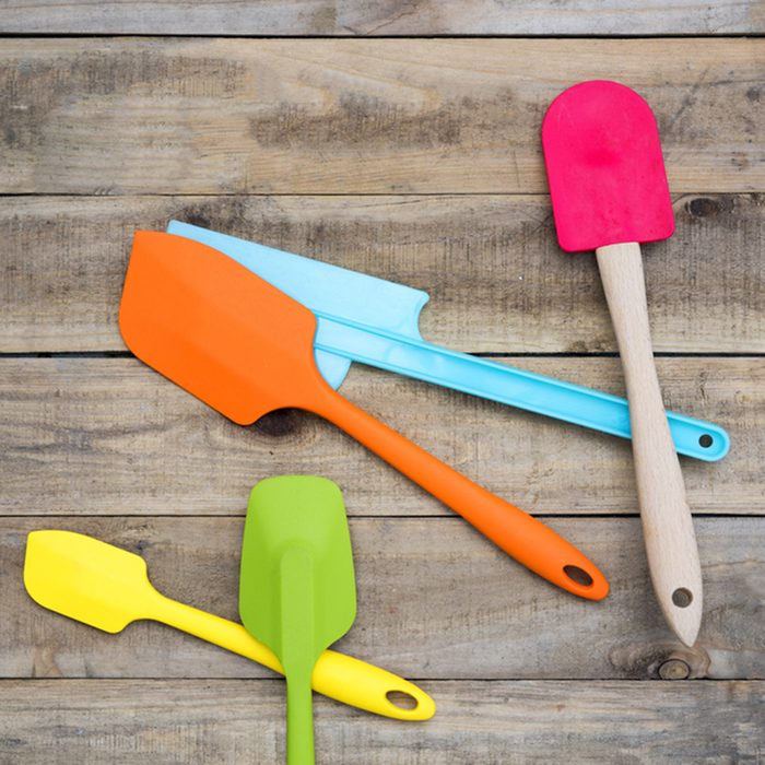 Bakery And Cooking Tools Silicone on wood table