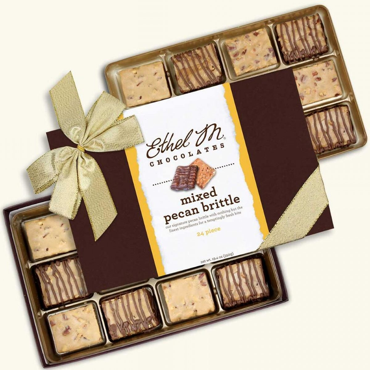 pecan brittle gift box