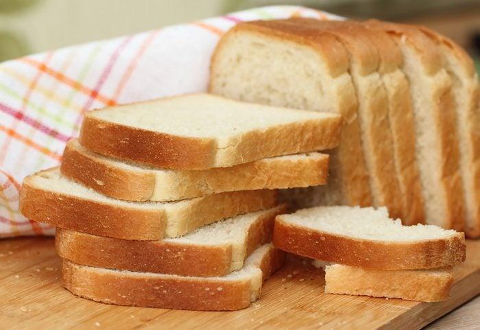 Sliced white bread; Shutterstock ID 352819853;