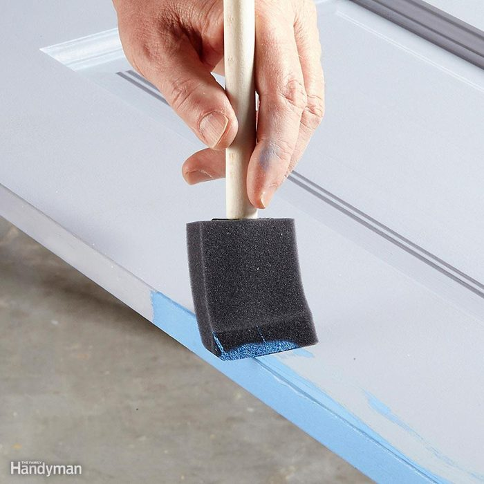 Wipe the edges