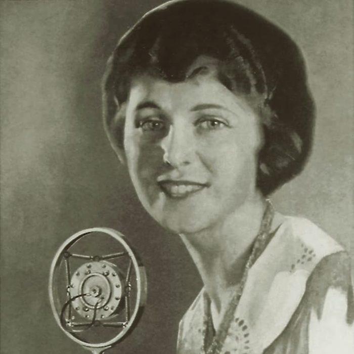Betty Crocker does radio