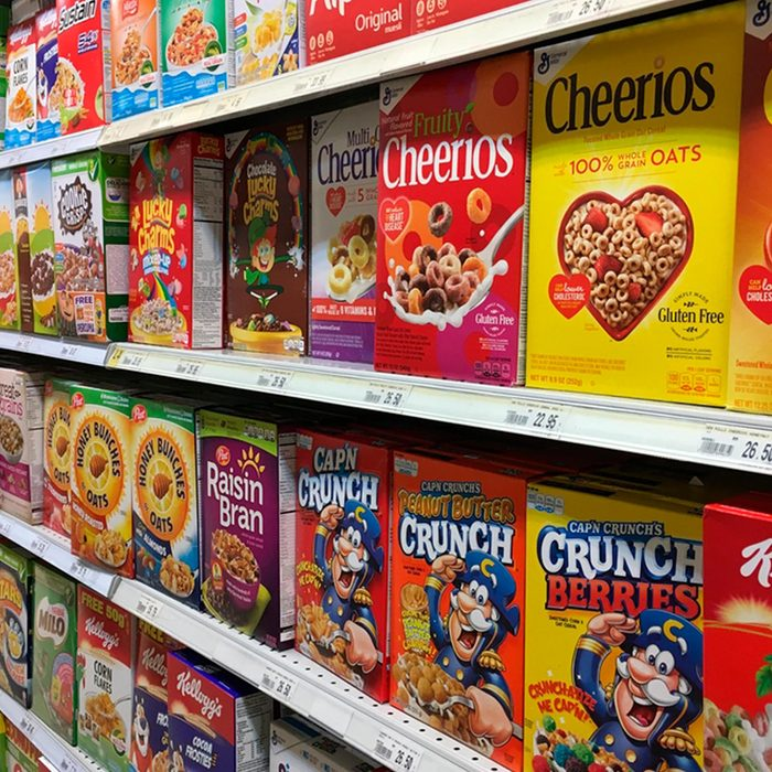 Name-brand cereal