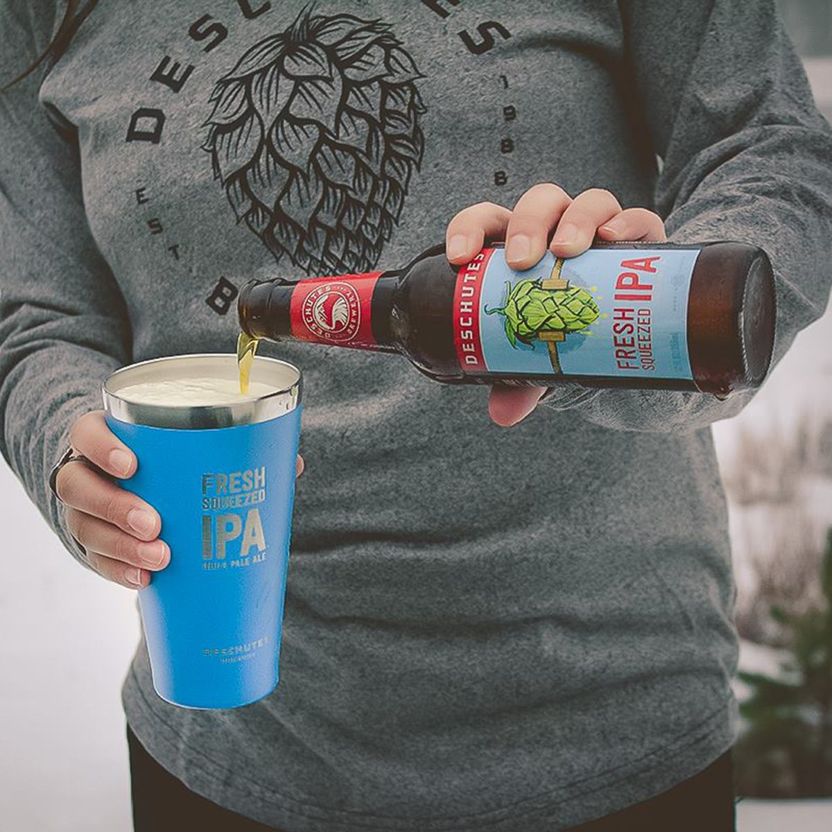 Deschutes Brewery's Fresh-Squeezed IPA