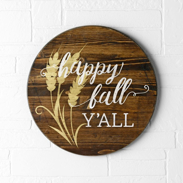 Country Woman October November 2018; Crafts; Fall; Pumpkins; Happy Fall Y'all