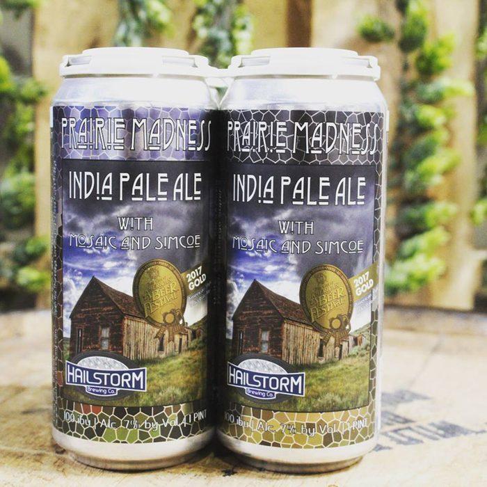 Hailstorm Brewing's Prairie Madness IPA