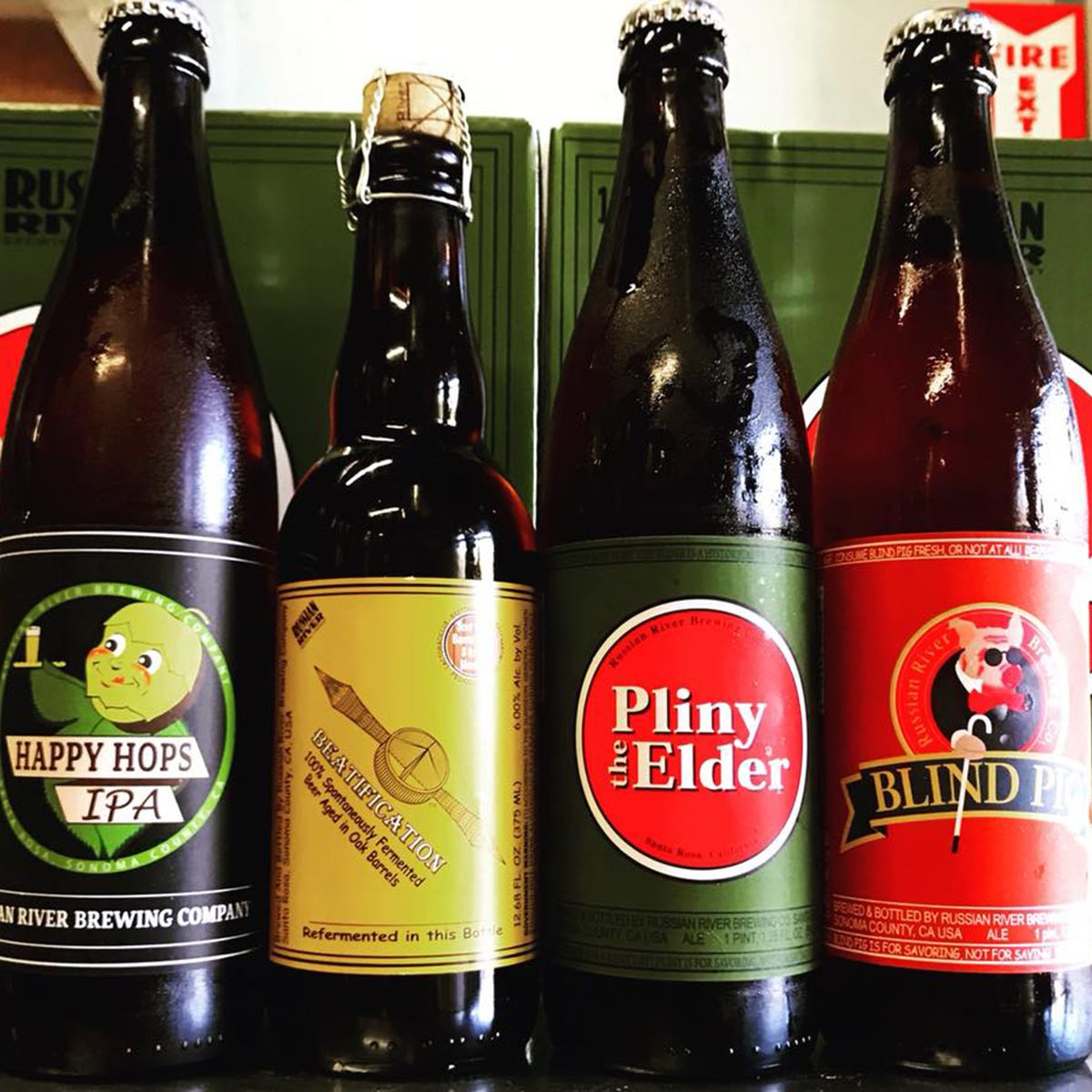 Russian River Brewing Company IPAs