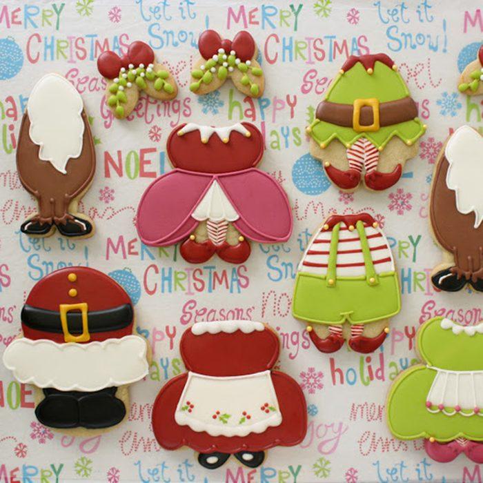 Christmas Bellies Cookie