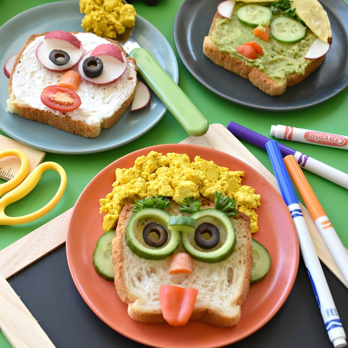 SILLY BREAKFAST TOAST FACES